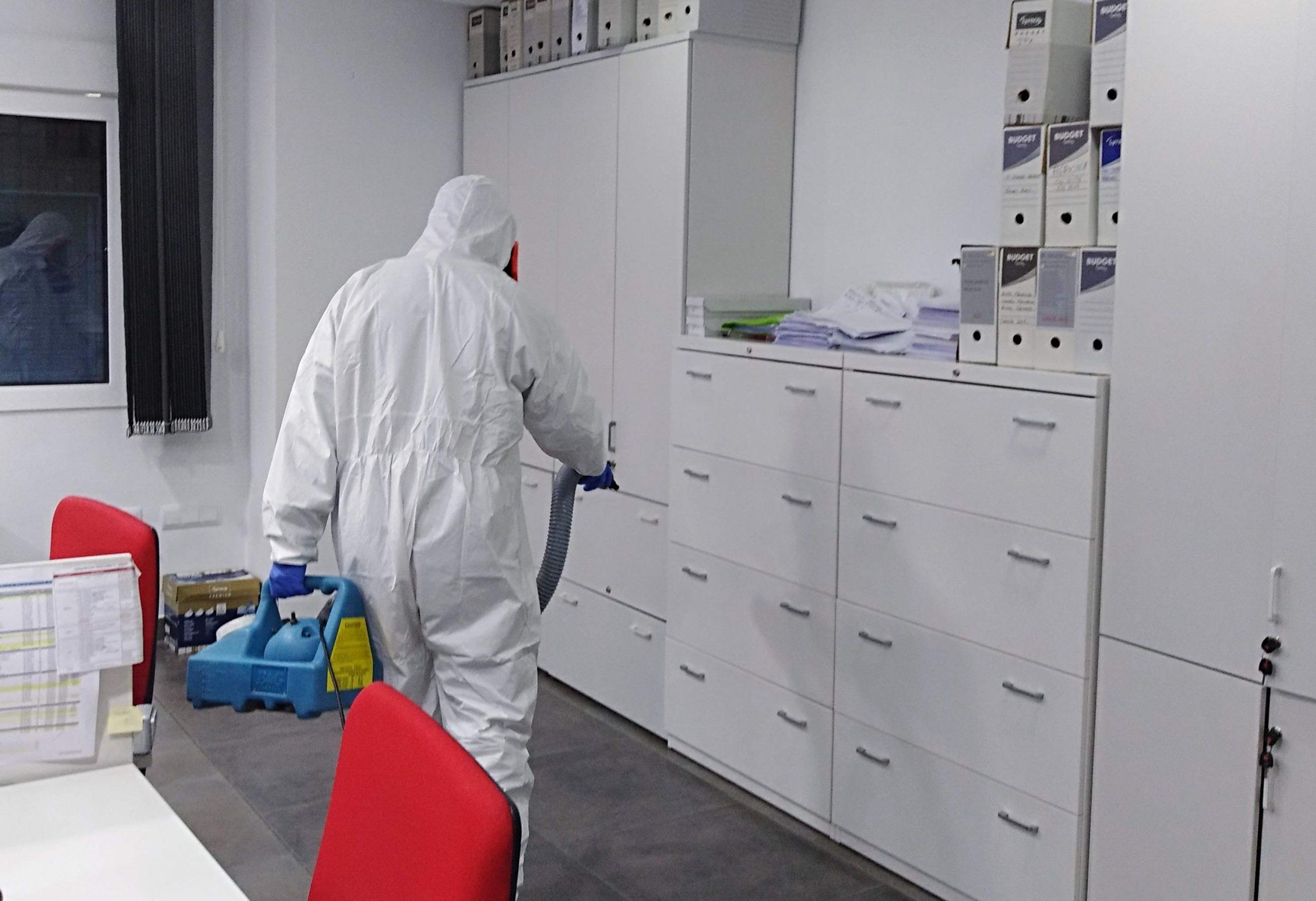 Limpieza y desinfección en empresas